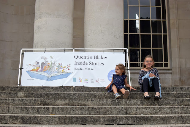 Quentin Blake, Inside stories,  free days out, National Museum Cardiff, Cardiff