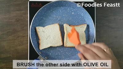 Curd Sandwich Rceipe