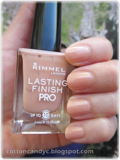 Cotton Candy Blog Nail Of The Day Rimmel Bare Naked And