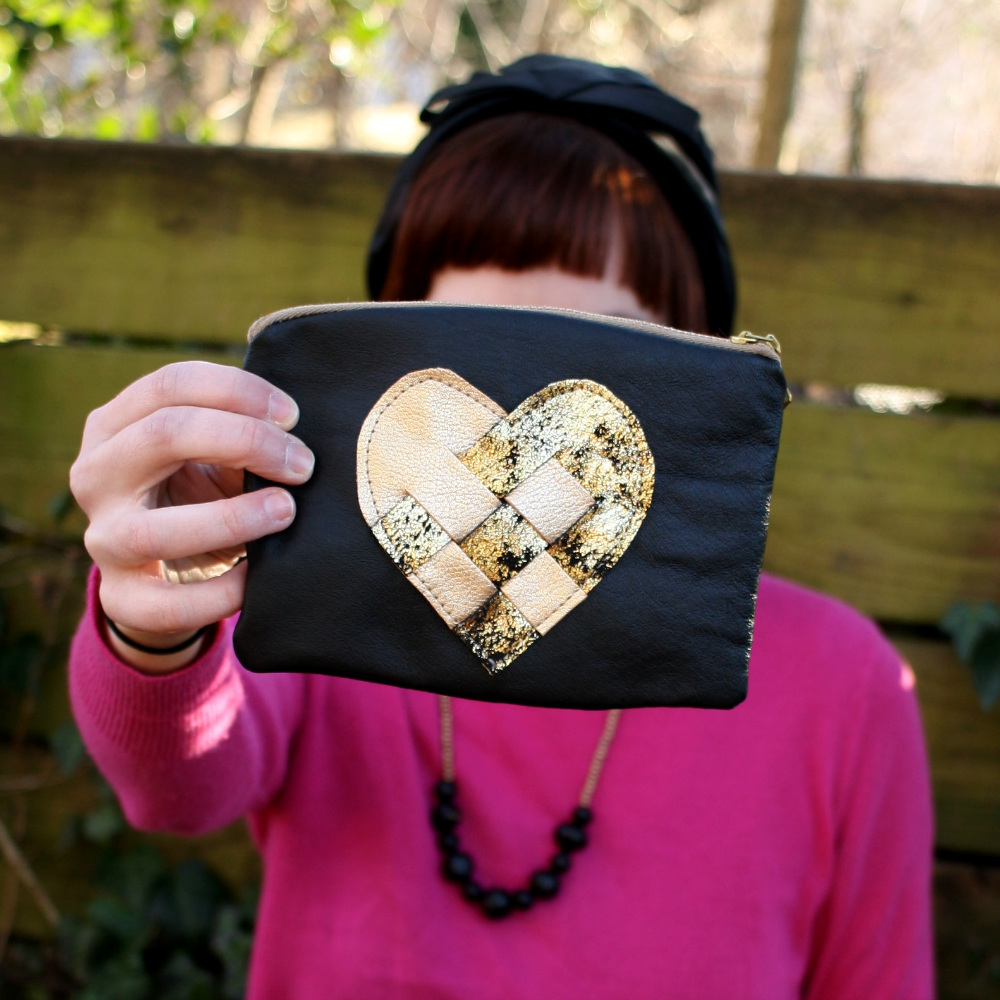 Love Mert Love Pouch - made in USA, ethical valentines day gift