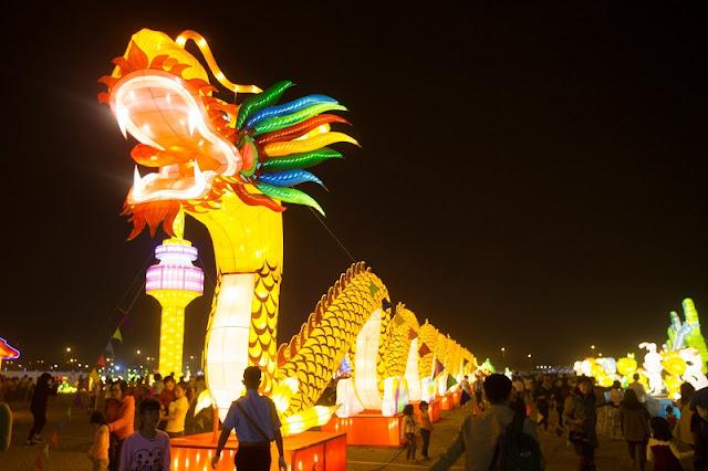 Lantern Festival in Tuyen Quang 2017