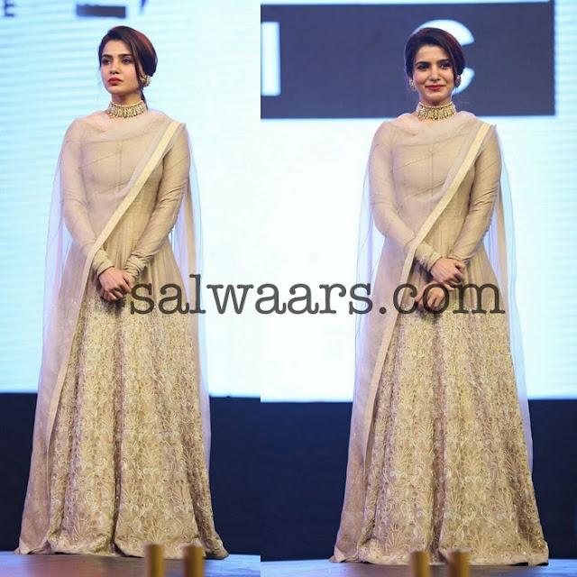 Samantha Floor Length Salwar by Jade