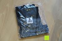 Verpackung: Laufhose Damen capri mit Hüfttasche für Handy Leggings Fitness Sport tights schwarz muster yoga hose sporthose jogging farbig dreiviertel 3/4 lang von Formbelt