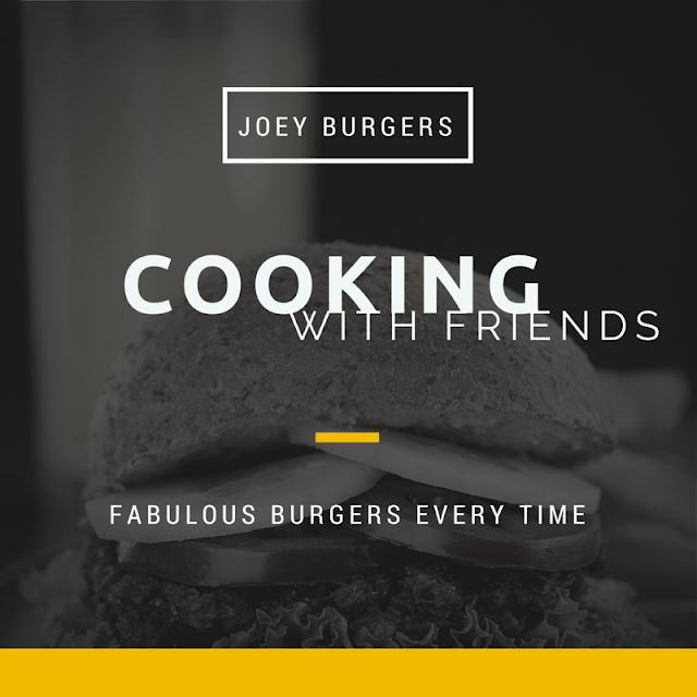 Joey's Best Grilled Burgers from the Cooking with Friends Cookbook from the TV series. Great tasting burgers. Perfect every time.