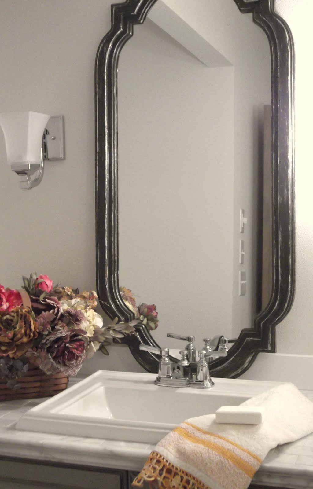 beach house bathroom mirrors here s the quot before quot again 17271