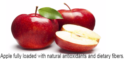 health benefits of apple,fruits for good health