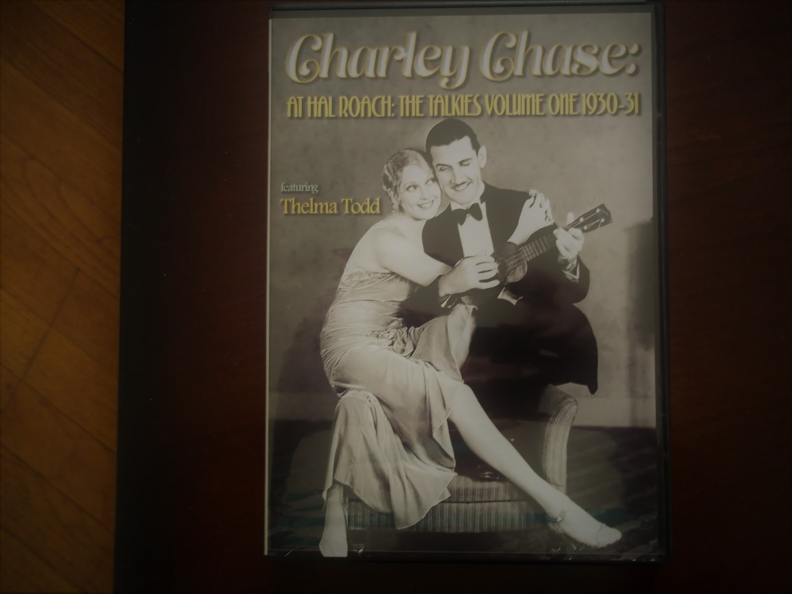 Charley chase on the set