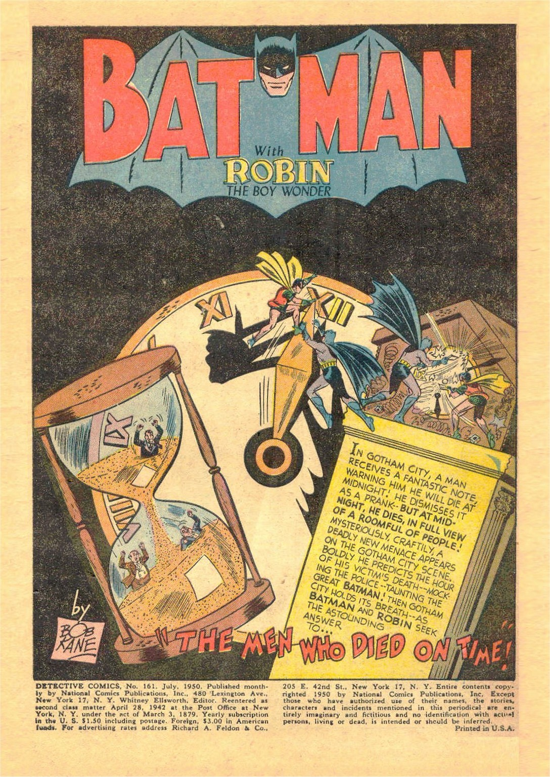 Detective Comics (1937) 161 Page 2