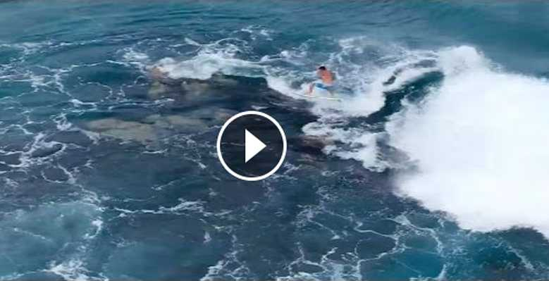 Mason Ho Rock Jumps in Hawaii
