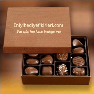 Çikolata hediye