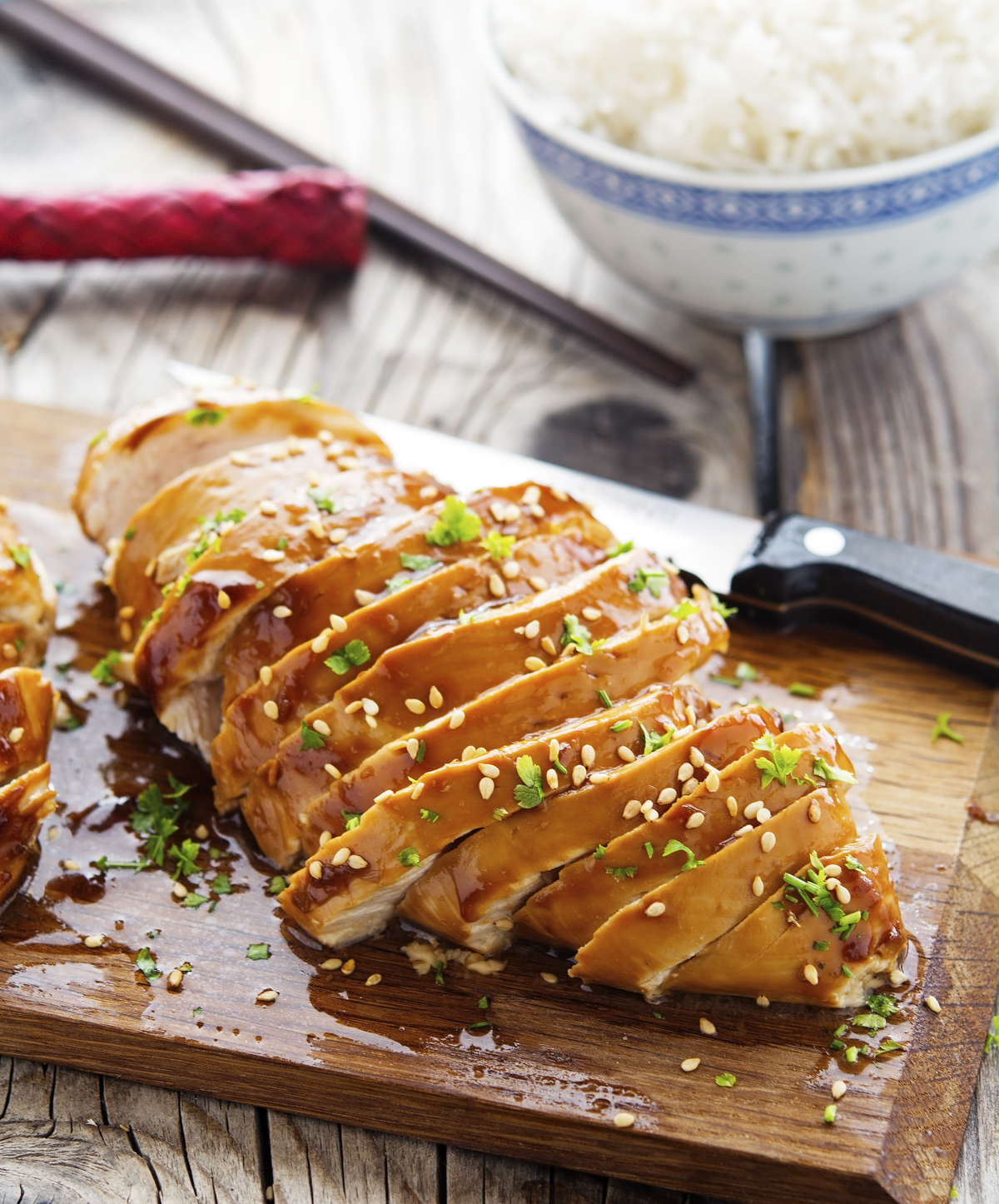 Easy Baked Honey-Teriyaki Chicken