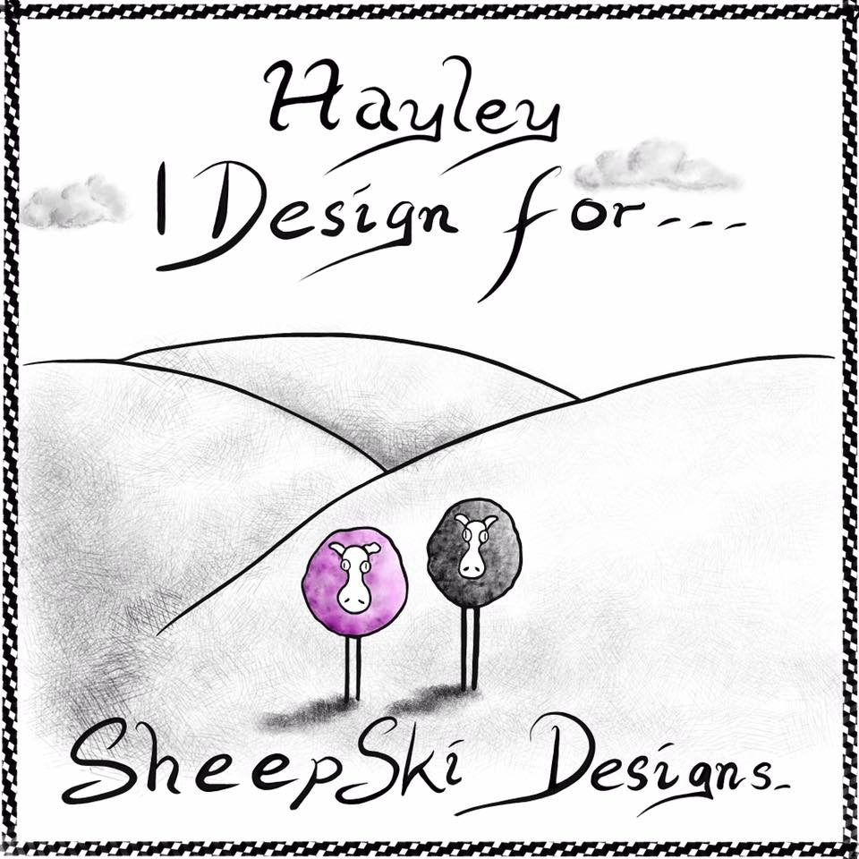 I design for Sheepski Designs