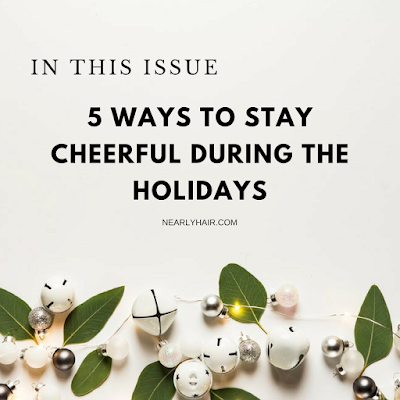 stay cheerful during the holidays