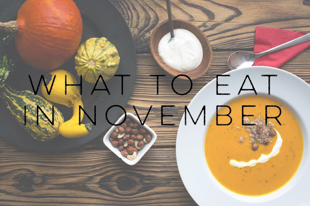 Eating Fabulously, Christopher Stewart, What To Eat in November, fall, fall produce