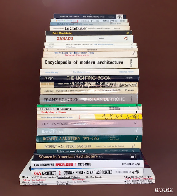 Vintage architecture books, GA Architect
