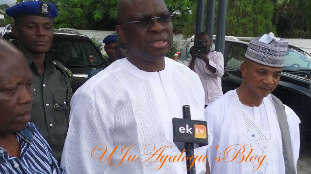 Fayose Bars Kalu From Ekiti State, Orders Monarchs Not To Receive Him