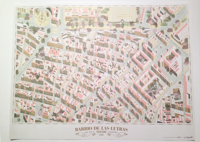 Barrio de las letras - walk with me