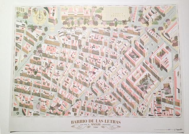 Barrio de las letras - walk with me