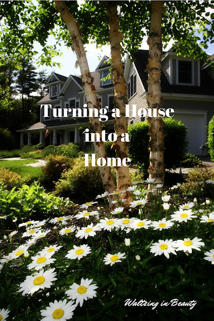 Turning a house into a home, featured guest post by grammietime2.com