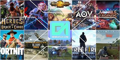 Beberapa aplikasi game terbaik android dengan genre battle royale dan moba, yang bisa kamu download secara gratis melalui playstore