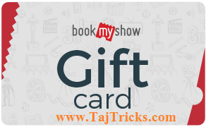 Book My Show Offer Back- Get Rs.1000 Gift card at Rs.616 only at Ebay. Ebay loot (offer expired)