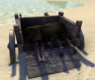 A corpse wagon in Elder Scrolls Online should make a classy thumbnail