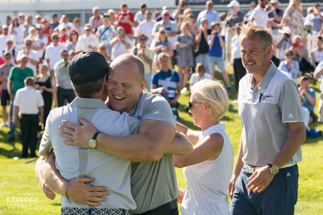 England Win The Celebrity Cup 2017