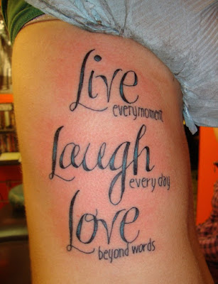Quotes of tattoo
