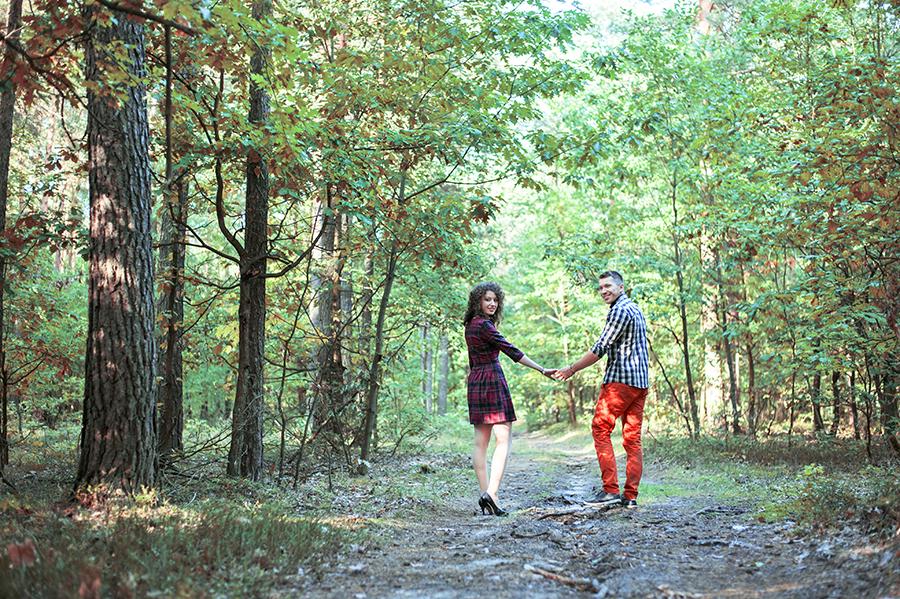 Zakochani w lesie, Lublin.
