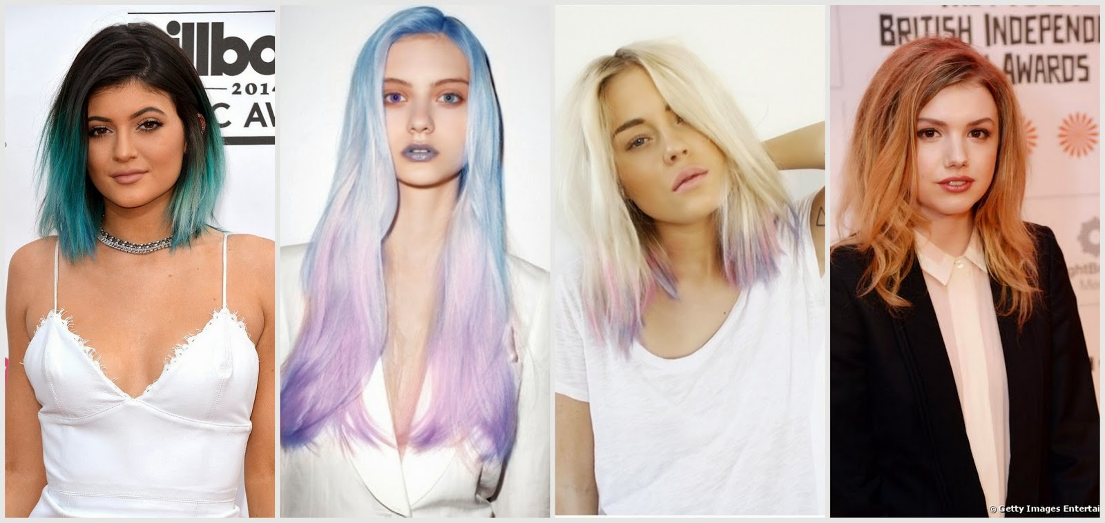 Mandalina Saç Rengi 2017 Yaz Trendi