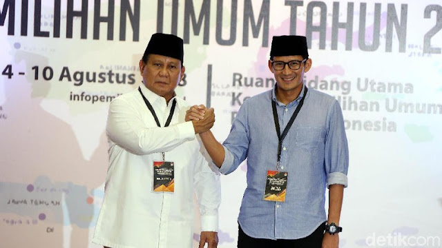 PA 212 Belum Memastikan Memberi Dukungan Kepada Prabowo-Sandiaga