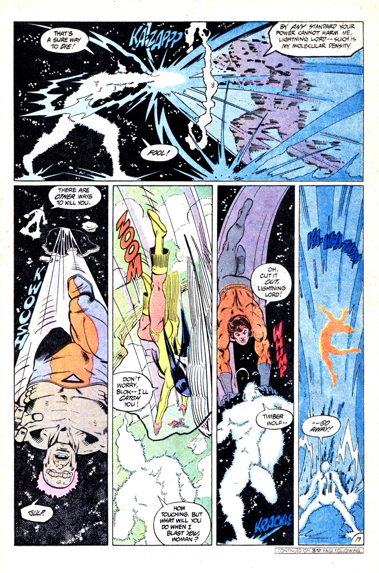 Legion of Super-Heroes (1980) 302 Page 21