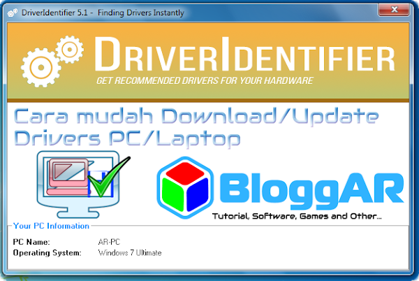 Cara Mudah Download dan Update Drivers PC/Laptop