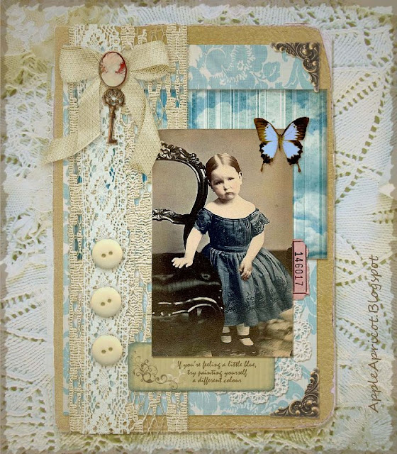 shabby chic collage by AppleApricot