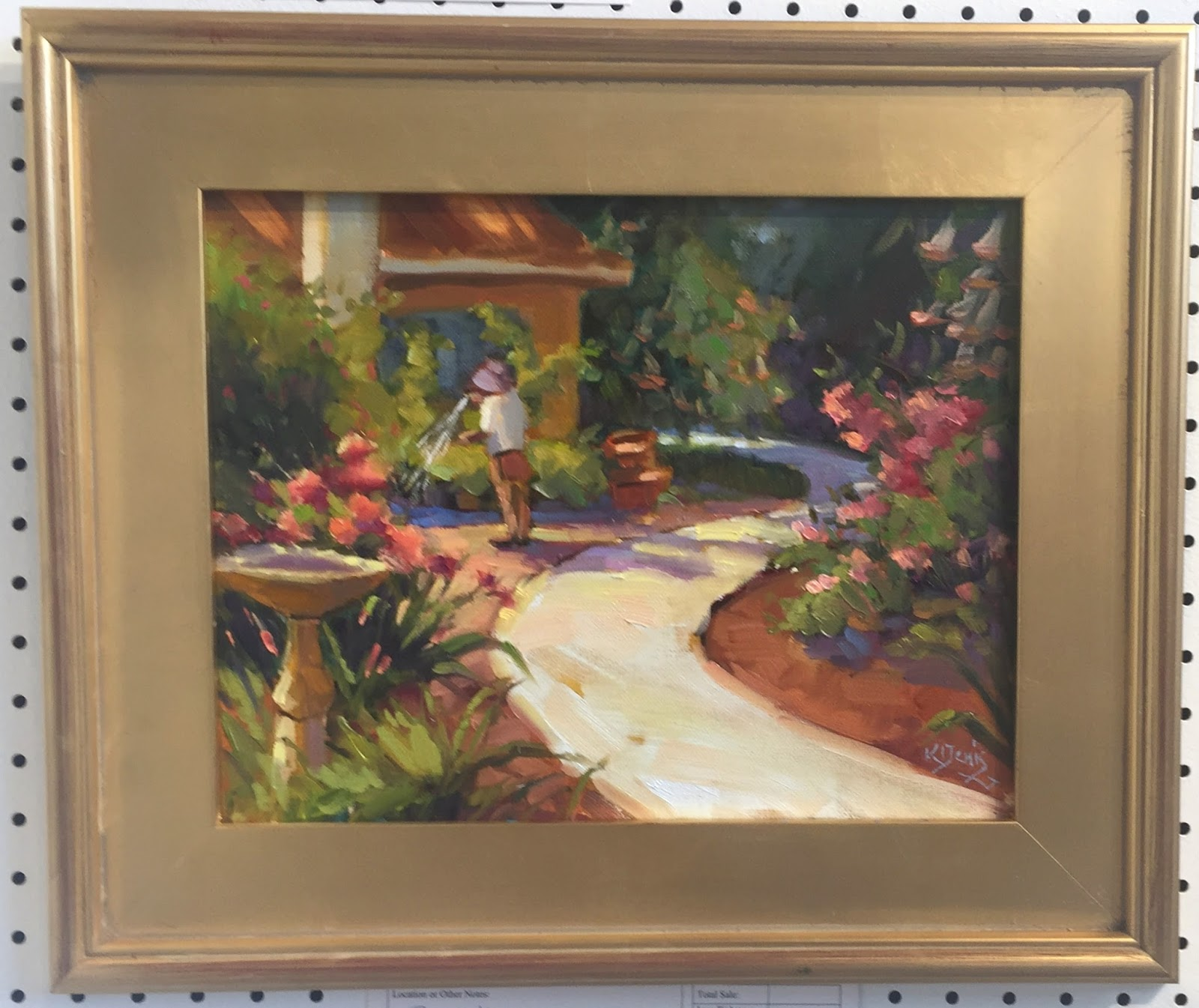 Virginia\'s Life, Such As It Is!: Winter Park Paint Out 2016 at Albin ...