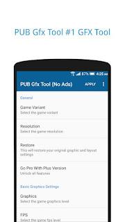PUB Gfx Tool Free (No Ads) v0.8.2f Latest APK