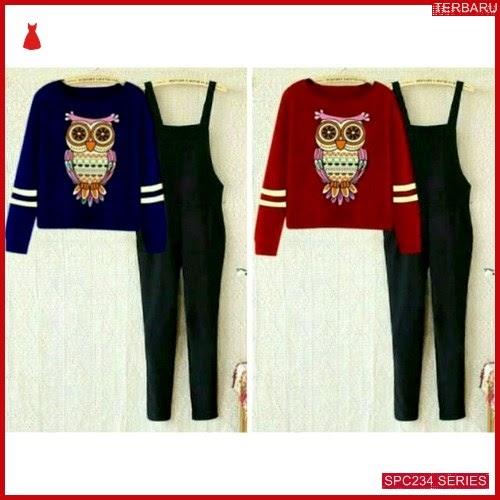 SPC234J38 Jump Owl Spandek Jumpsuit & Overall Wanita | BMGShop