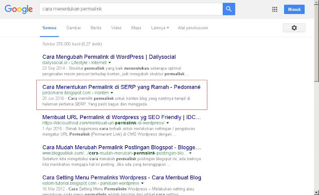 cara agar blog muncul di google paling atas halaman 1