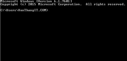 Dùng lệnh CMD xem mật khẩu Wifi trên máy tính - Văn Thắng Blog