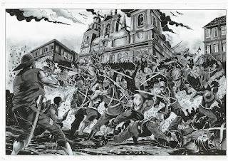Cabanagem - Combate nas Ruas de Belém