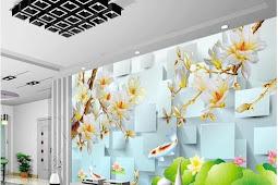 Wallpapper Dinding 3 Dimensi Zaman Now ini