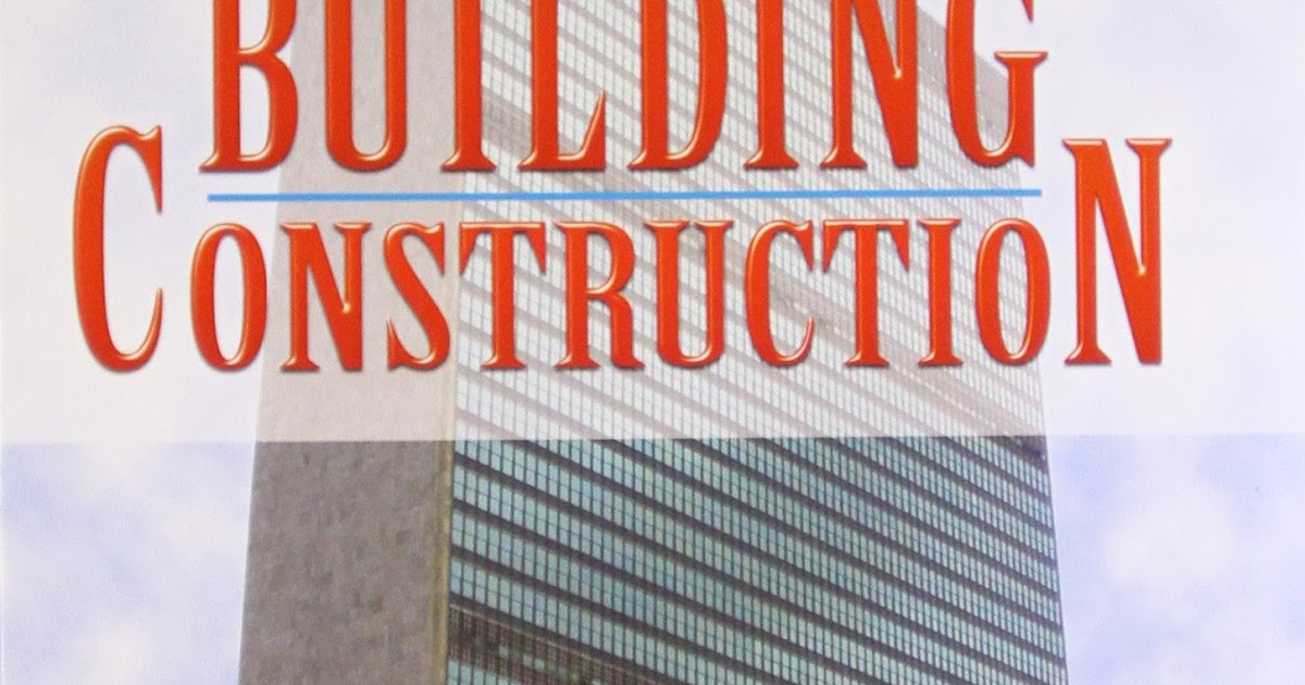 Building Materials And Construction Book (PDF) With