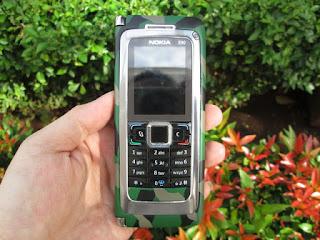 Hape Loreng Army Nokia E90 Communicator Seken Kolektor Item