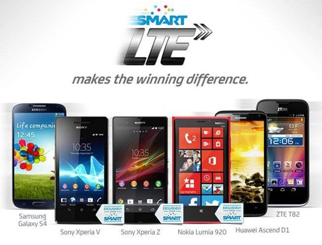 Smart LTE Capable Smartphones