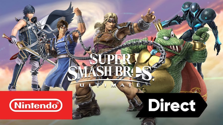 super smash bros ultimate nintendo direct new characters