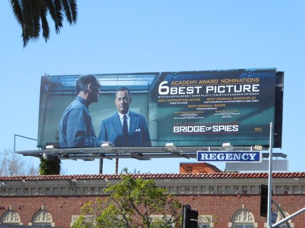 Bridge of Spies Oscar consideration billboard