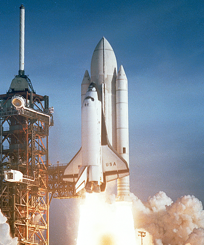 space shuttle first flight - photo #2