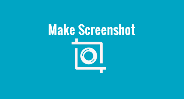 How to make a screenshot without software