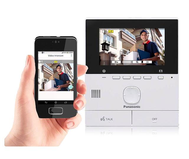 Wideodomofon Panasonic VL SVN511 z WiFi