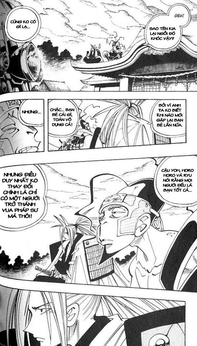 Shaman King [Vua pháp thuật] chap 77 trang 13